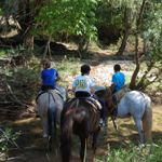 ruta a caballo viaje fin de curso