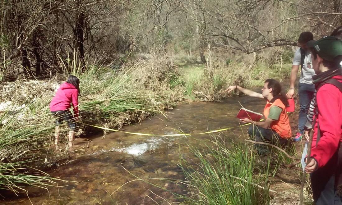 Educación ambiental en el Río