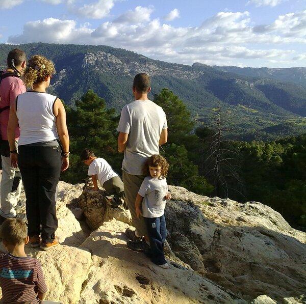 senderismo con niños en Cazorla